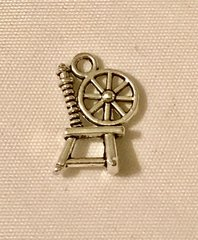 1719. Spinning Wheel Pendant