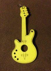 862. Wood Guitar Pendant