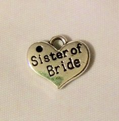 1500. 2 sided Sister of Bride Pendant