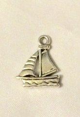 1244. Sail Boat Pendant