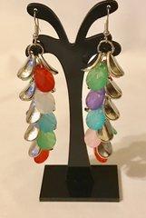 1672. Colorful Dangle Earrings