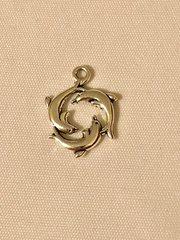 1788. Triple Dolphin Pendant