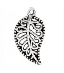 706. Silver Leaf Pendant
