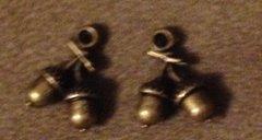 696. Bronze Acorn Pendant