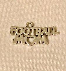 1701. Football Mom Pendant