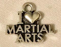 1123. I Love Martial Arts Pendant
