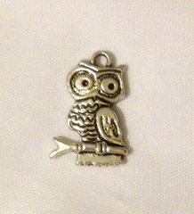 1229. Perched Owl Pendant