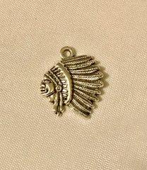 606. Indian Head Pendant