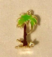 1778. Palm Tree Pendant