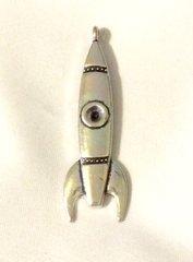 919. Rocket Ship Pendant