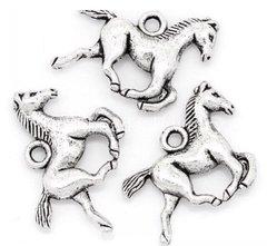 605. 3D Horse Pendant