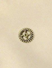 167. Antique Silver small Clock Gear Pendant