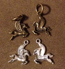 596. Pegasus Pendant