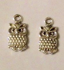 1435. Small Owl Pendant