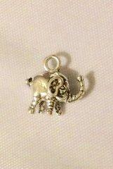 1429. 2 sided Elephant Pendant