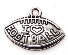 "56. I 'heart' love Football ""Football"" Pendant"