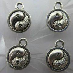 773. Silver Yin Yang Pendant