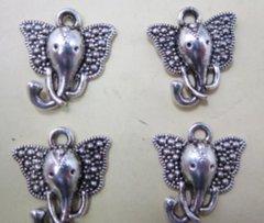 565. Elephant Head Pendant with Big Ears Pendant