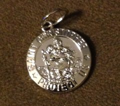 859. Saint Christopher Pendant