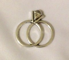 1172. Double Engagement Ring Pendant