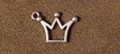 628. Hollow Crown Pendant