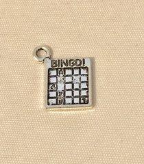 1754. Bingo Card Pendant