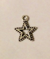 700. Dotted Star Pendant