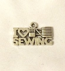 1403. I Love Sewing Pendant