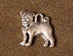 906. 2 sided Bulldog Pendant