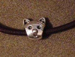 1087. Cat Face Bead