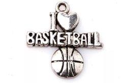 51. I love Basketball Pendant