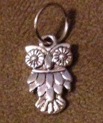 841. Ornate Eyed Owl Pendant