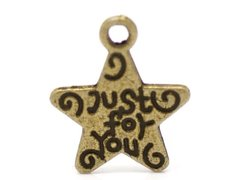 450. 'Just for you' Star Pendant