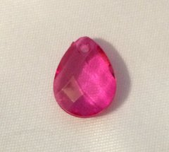 1619. October Birthstone Pink Tourmaline Pendant