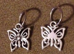 665. Ornate Butterfly Pendant