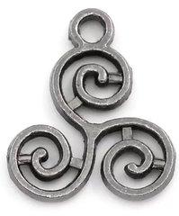 813. Triskelion Pendant