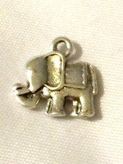 1389. 2 sided Elephant Pendant