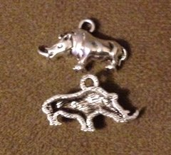 588. Rhinoceros Pendant