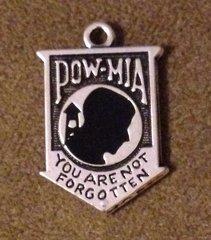 1093. POW MIA Pendant
