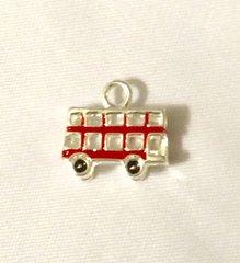 1297. British Double Decker Bus Pendant