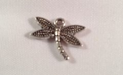 646. 2 sided Dragonfly Pendant