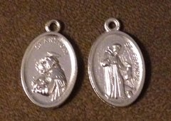 1097. Saint Anthony Saint Francis Pendant