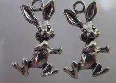 763. Dancing Rabbit Pendant