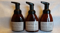 8 oz, Olive Oil and Glycerin Foam Pump Soap scented with Essential Oil