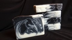 Licorice Mint Charcoal  Handmade Soap