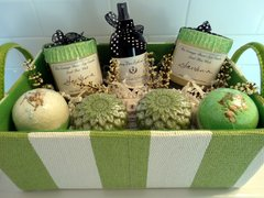 Create Your Own Gift Basket - basket creating service included in $8, purchase additional products of your choice