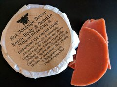 French Rose Clay and Essential Oil Facial Soap