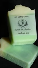Green Tea and Bamboo Handmade Soap