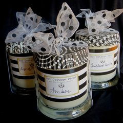 All Soy Candle - 10 oz. @ 50 hour burn time - The Green/Herbal and Fruit Collection - Choose your scent