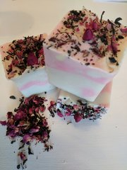 Black Tea, Rose & Vanilla Scented Handmade Soap